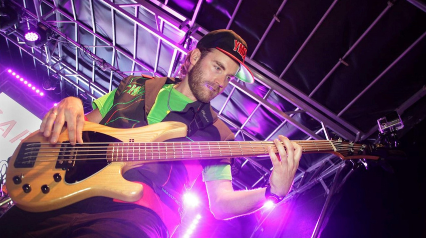 Christoph Miebach am Bass