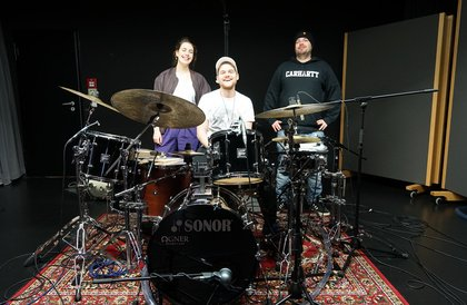 Shure Studio Tage: So lief das Drum-Special mit LOLA funkt