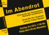 Vox Quadrata, Tristan Meister in Mannheim, Konzert, 25.02.2018, Heilig-Geist-Kirche -
