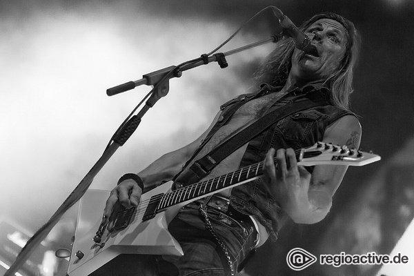 Hymnen für die Freiheit - Live-Bilder von Freedom Call als Support von Iced Earth im Schlachthof Wiesbaden