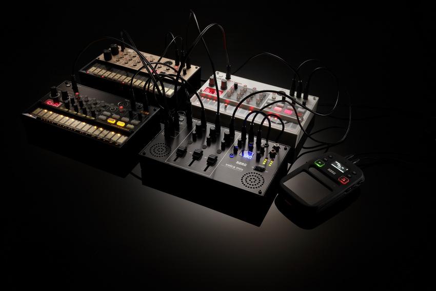 Korg volca mix: Die Schaltzentrale für jedes volca Setup