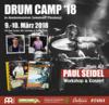 Drum Camp 2018: Workshop für Anfänger und Fortgeschrittene
