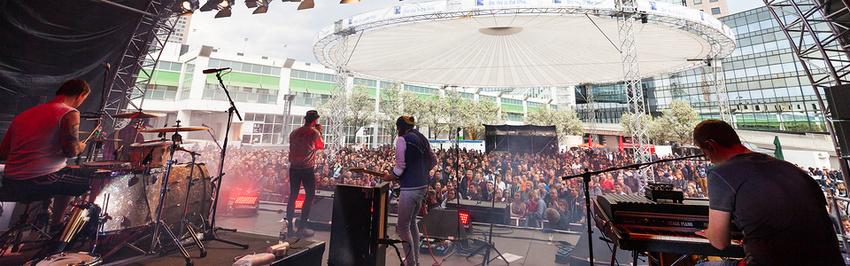 Spielt in der Festival Arena bei der Musikmesse 2018 in Frankfurt