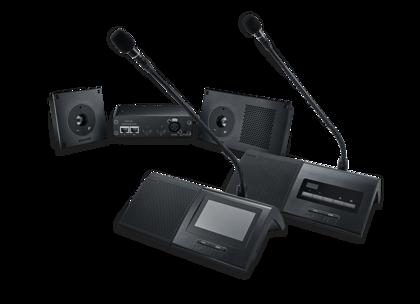 Shure präsentiert Microflex Complete Konferenzsystem auf der ISE 2018