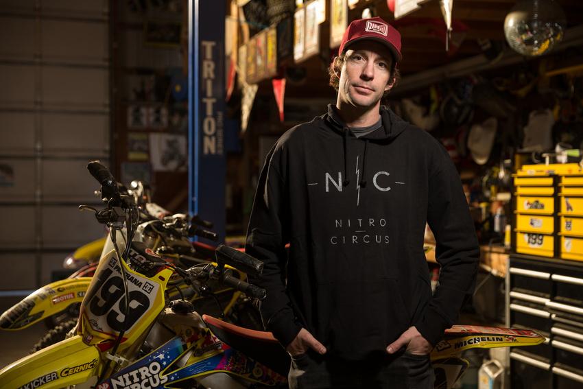Travis Pastrana, Gründer des Nitro Circus