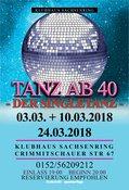 TANZ ab 40 - der Singletanz in Zwickau, Party, 24.03.2018, Klubhaus Sachsenring -
