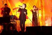 Deine Lakaien: Fotos des Dark-Wave-Duos live im Rosengarten Mannheim