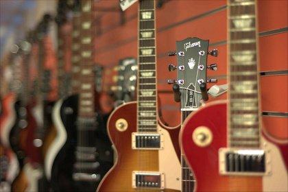 Steht der Traditions-Gitarrenbauer Gibson vor dem Bankrott?