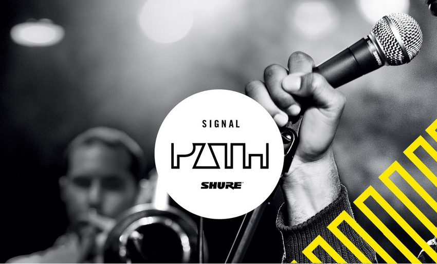"Start der neuen Podcast-Serie ""Shure Signal Path"""