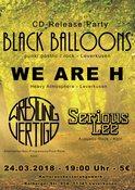 Black Balloons / WE ARE H / Wrestling Vertigo/ Serious Lee in Leverkusen, Konzert, 24.03.2018, Kulturausbesserungswerk -