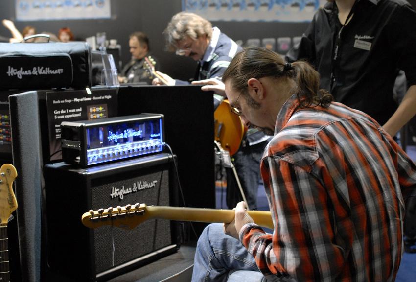"""Musikmesse """"Amp World"""" präsentiert Verstärker und Cabinets von Top-Marken"""