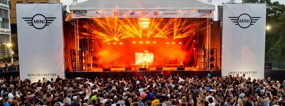 Euer Auftritt auf dem Osthafen-Festival 2018 in Frankfurt am Main