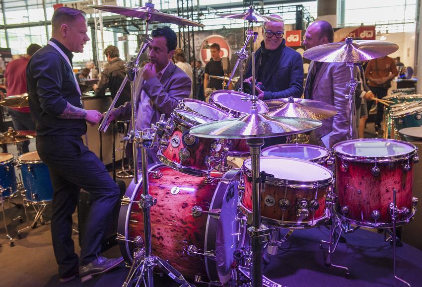Musikmesse 2018: GEWA Drums präsentiert Neuheiten der Marken DW, Gretsch und Remo
