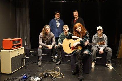 Shure Studio Tage: Die Recording-Session mit Jenny Bright wird zum vollen Erfolg