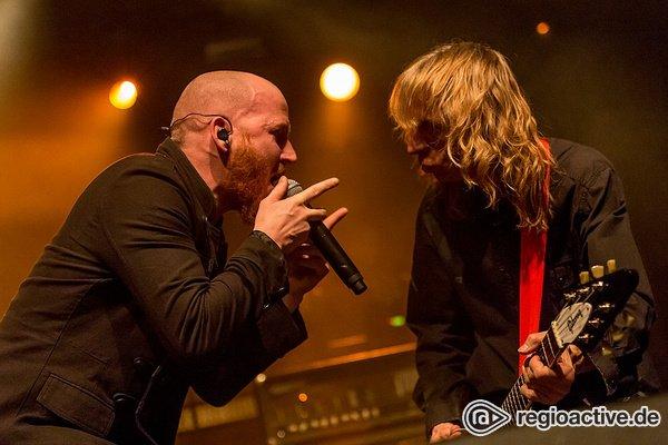 Unterschätzte Wegbereiter - Fotos von Diamond Head live als Support von Saxon in Frankfurt