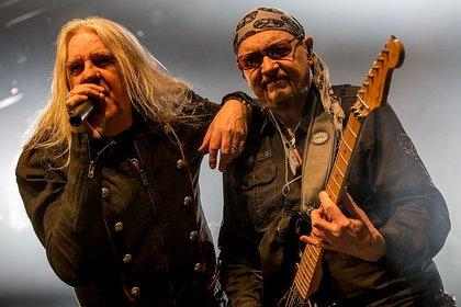 Umjubelte Veteranen - Saxon & Diamond Head: Metallischer Donnerschlag in der Batschkapp Frankfurt
