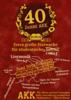 40 Jahre AKK - Jubiläums Sommerfest in Karlsruhe, Konzert, 01.06.2018, Altes Stadion - Paulkeplatz 1 -