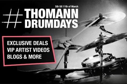 Wissenswertes, Unterhaltung, Schnäppchen und mehr - Bei den #ThomannDrumDays dreht sich alles rund um die Welt der Drums