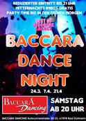 Baccara Dance Night mit DJ Thomy in Bad Dürkheim, Party, 24.03.2018, Baccara - Tickets -