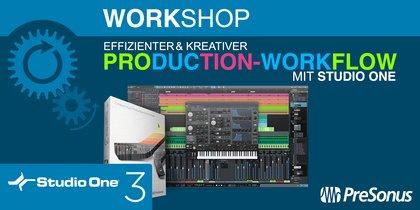 Hochleistungswerkzeug für Audiobearbeitung - PreSonus Workshop: Effizienter & kreativer Production-Workflow mit Studio One