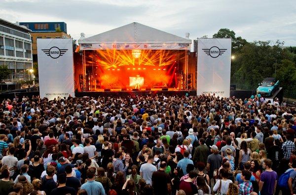 Deine Entscheidung - Wähle deine Lieblingsband auf das Osthafen-Festival 2018 in Frankfurt