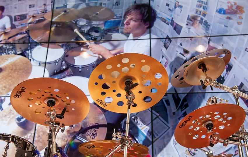 Paiste nimmt an der Musikmesse in Frankfurt teil