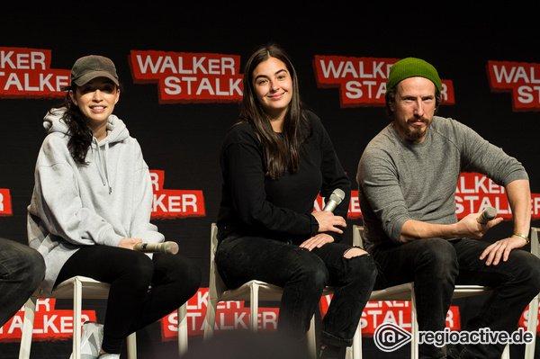 Drei bekannte Gesichter - Die Walker Stalker Convention 2019 begrüßt Jesus, Rosita und Jadis in Berlin