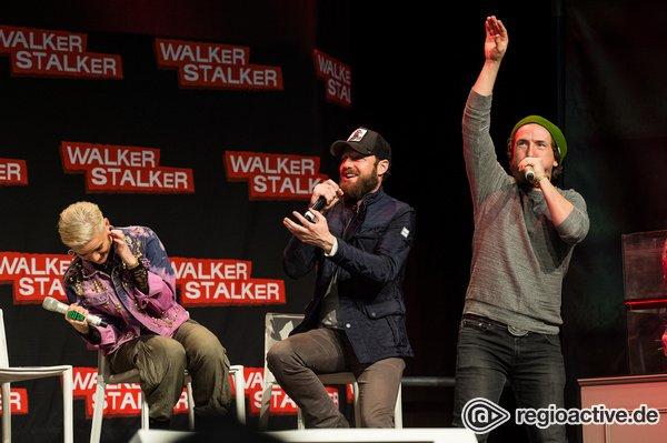 Immer größer - Walker Stalker Convention 2019 mit dem Governor, Aaron und Eugene