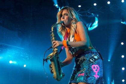 Frauenpower - Candy Dulfer und Stefanie Heinzmann bei Worms: Jazz & Joy 2018