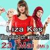 "Liza Kos ""Was glaub`ich, wer ich bin?!"" in Berlin, Kleinkunst, 23.05.2018, Comedy Club Kookaburra - Tickets -"