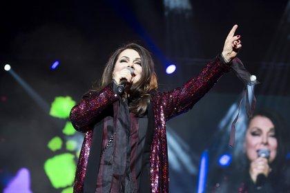 Sie gehört dazu - Marianne Rosenberg: Bilder der Sängerin live bei der Schlagernacht des Jahres in Mannheim