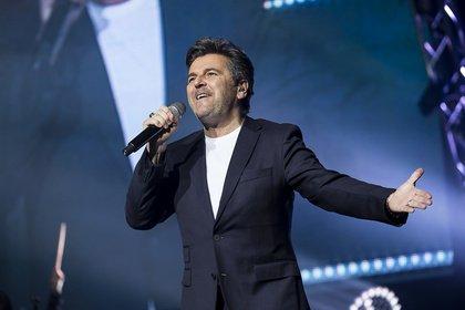 Ex-Modern Talking - Thomas Anders: Bilder des Sängers live bei der Schlagernacht des Jahres in Mannheim