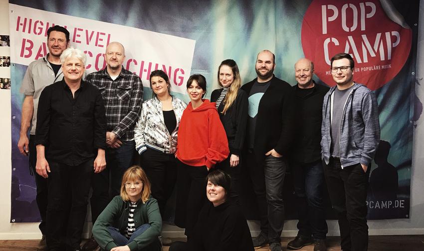 PopCamp 2018: Acht Bands für das Live-Audit ausgewählt