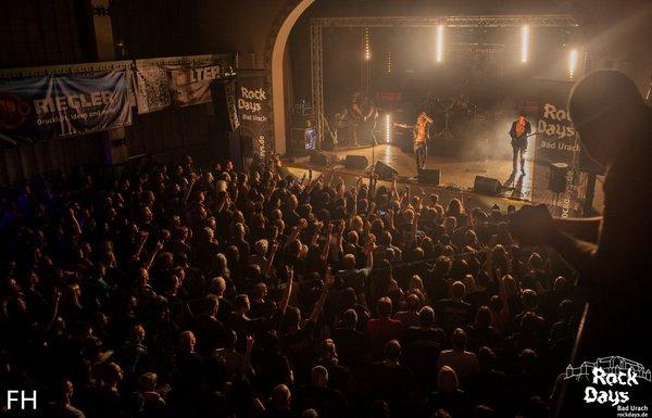 Lass die Haare tanzen - Die 19. Rock Days in Bad Urach stehen Ende April 2018 vor der Tür