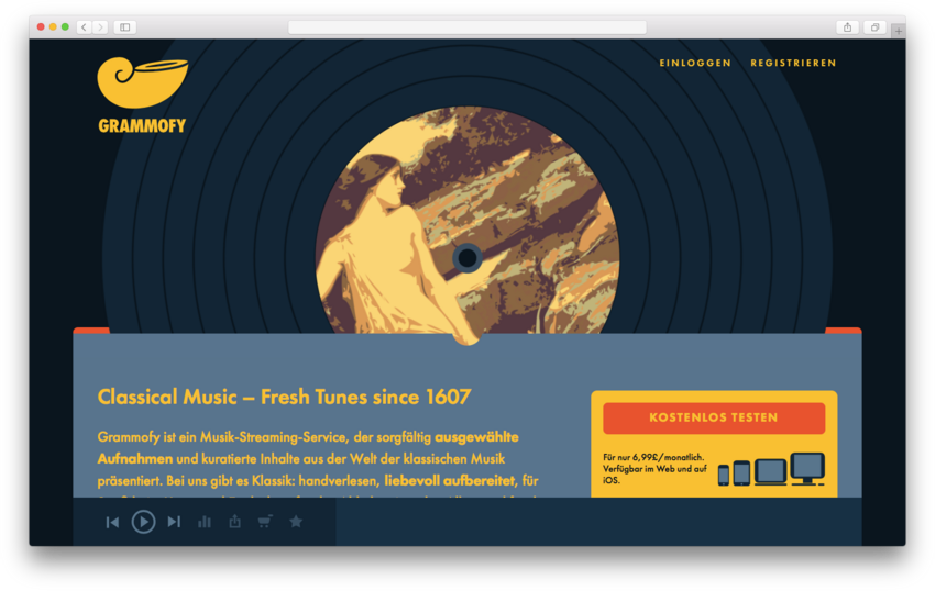 Die Klassik-Streaming-Plattform Grammofy kehrt als Spotify-Plugin zurück