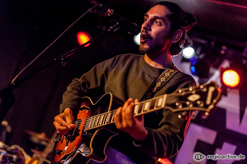 JURI (live beim Backstage Clubaward in Frankfurt 2018)