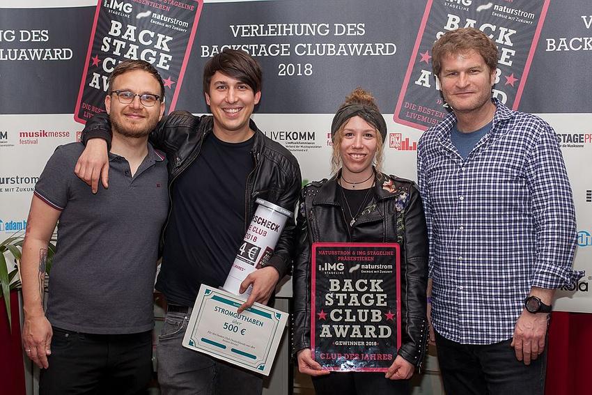 Verleihung des BACKSTAGE Clubaward 2018: Das sind die besten Locations Deutschlands!