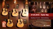 Taylor Day für Gitarristen