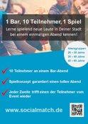 Du willst entspannt neue Leute kennenlernen? - Socialmatch! in Düsseldorf, Freizeit, 23.05.2018, Kit Cafe -