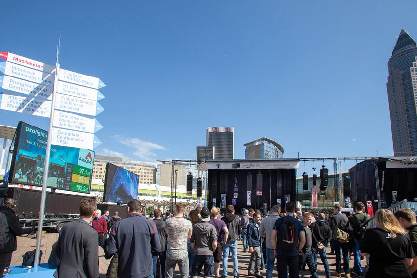 Musikmesse und Prolight + Sound: Internationalität und Ausstellerzufriedenheit im Aufwärtstrend