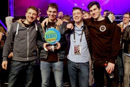 Funk Fragment gewinnen das SchoolJam-Finale 2018 auf der Musikmesse in Frankfurt