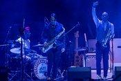 Livebilder der Preservation Hall Jazz Band als Support von Arcade Fire in Frankfurt