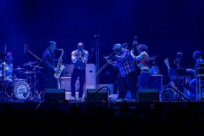 New Orleans Jazz pur - Livebilder der Preservation Hall Jazz Band als Support von Arcade Fire in Frankfurt