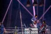 Ekstatisch: Live-Bilder von Arcade Fire in der Festhalle Frankfurt