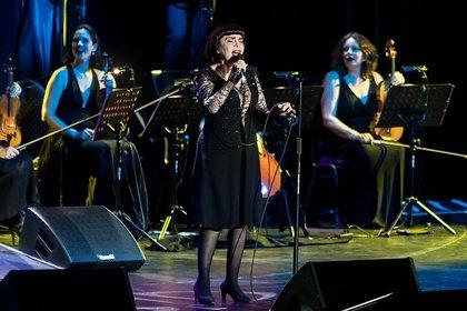 Der Spatz von Avignon - Live-Fotos von Mireille Mathieu in der Jahrhunderthalle Frankfurt
