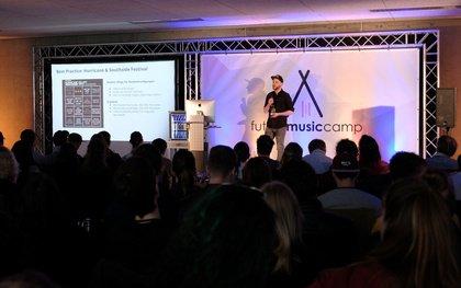 Das Future Music Camp 2018 stellte den Live-Sektor in den Mittelpunkt