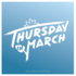 Thursday in March