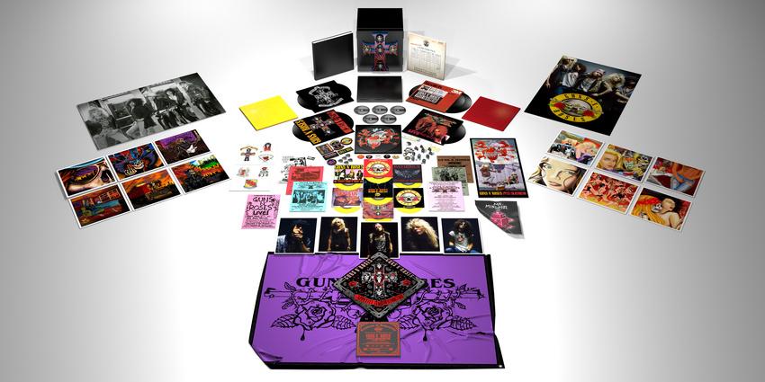 """Reissue des Megasellers """"Appetite For Destruction"""" in der Locked N' Loaded Edition"""