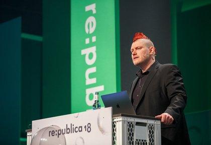 Über Whistleblower und andere POPstars - Die re:publica 2018 lässt Blasen platzen