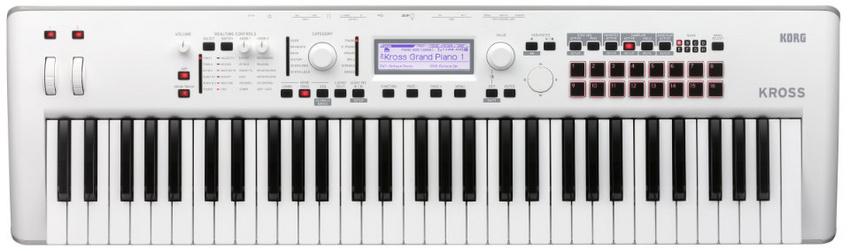 """Der KORG KROSS 2 61 ist jetzt auch in limitierter Farbvariante """"Pure White"""" zu haben"""